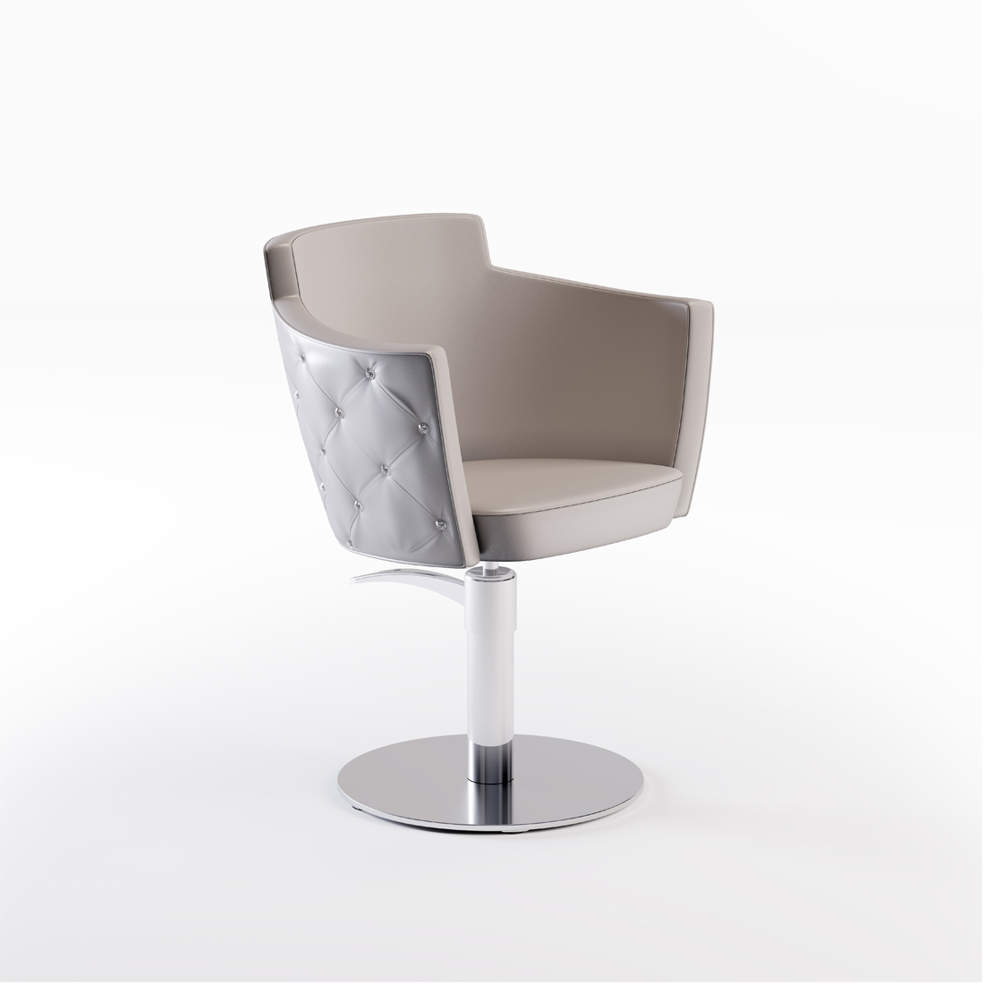 CINDARELLA – Mademoiselle chair – persp. Swarovski