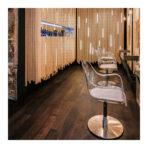 3 fauteuils de coupe MANON dans un salon