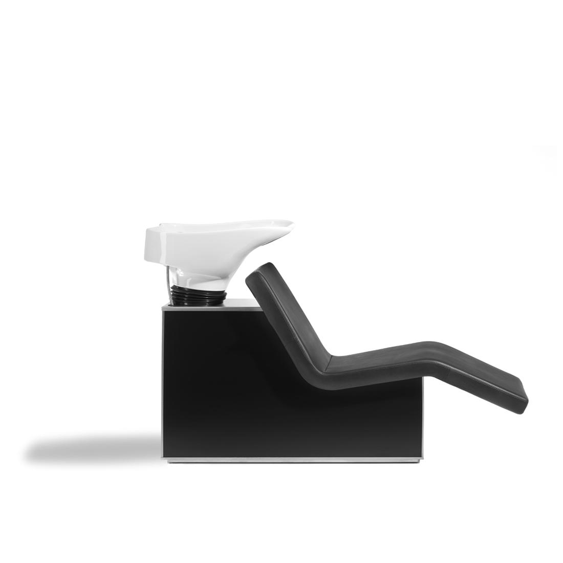 Wellness sofa – zwart side